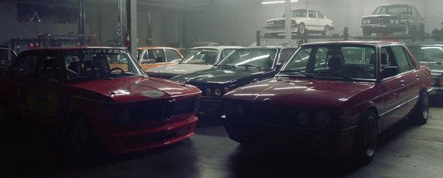 Cele 45 de BMW-uri clasice ale unui misterios colectionar din SUA