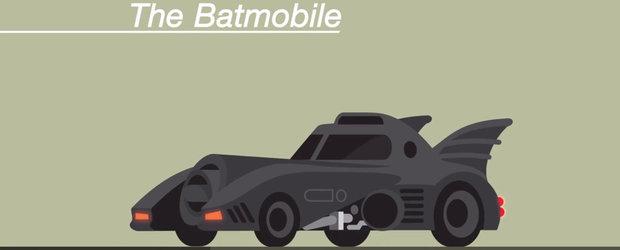Cele mai cunoscute masini de film din ultimii 50 de ani