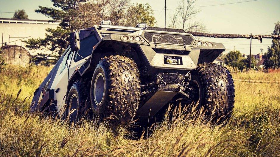 Cele mai demente vehicule de off-road din galaxie sunt cu siguranta aceste prototipuri rusesti