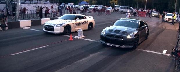 Cele mai rapide masini de la Moscow Unlim, editia 2013. Episodul 1