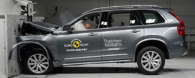 Cele mai sigure masini testate de Euro NCAP in 2015