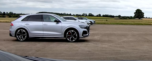 Cele mai tari SUV-uri produse vreodata de Volkswagen s-au aliniat la start. Cine castiga cursa