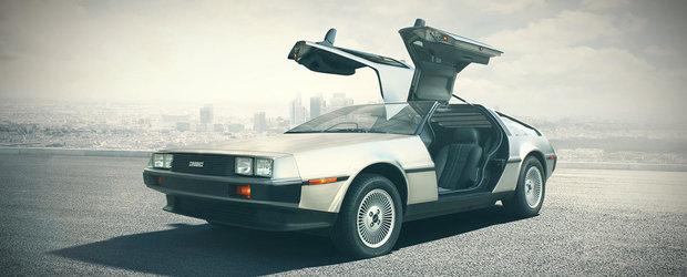 Celebrele masini din inox DeLorean DMC-12 vor fi din nou fabricate