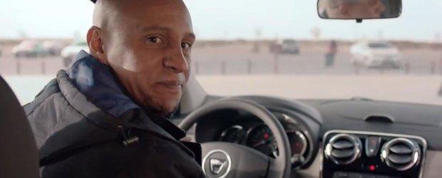 Celebrul fotbalist Roberto Carlos face reclama la Dacia Lodgy