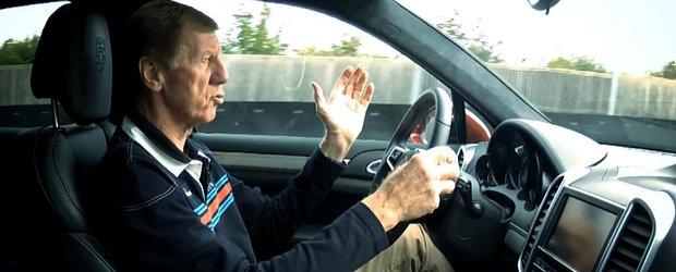 Celebrul Walter Rohrl testeaza un Porsche Cayenne GTS