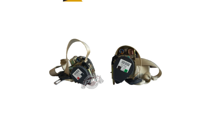 Centuri de siguranta fata gri / negre / crem AUDI A8 D3 4E an 2003 - 2010