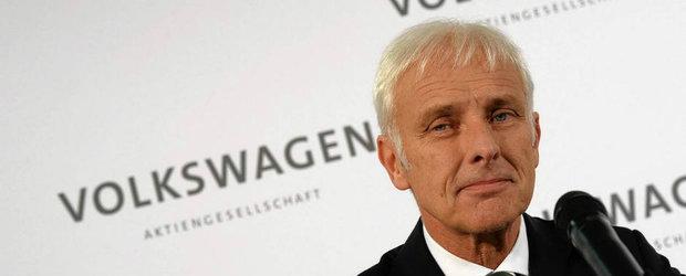 CEO-ul Volkswagen a setat niste obiective indraznete pentru constructorul german in urmatorii ani