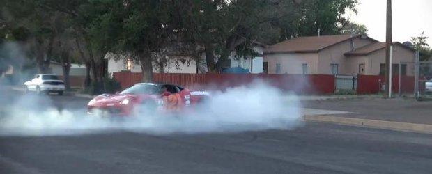 Cerculete cu Ferrari 458 Italia in cadrul raliului Gumball 3000