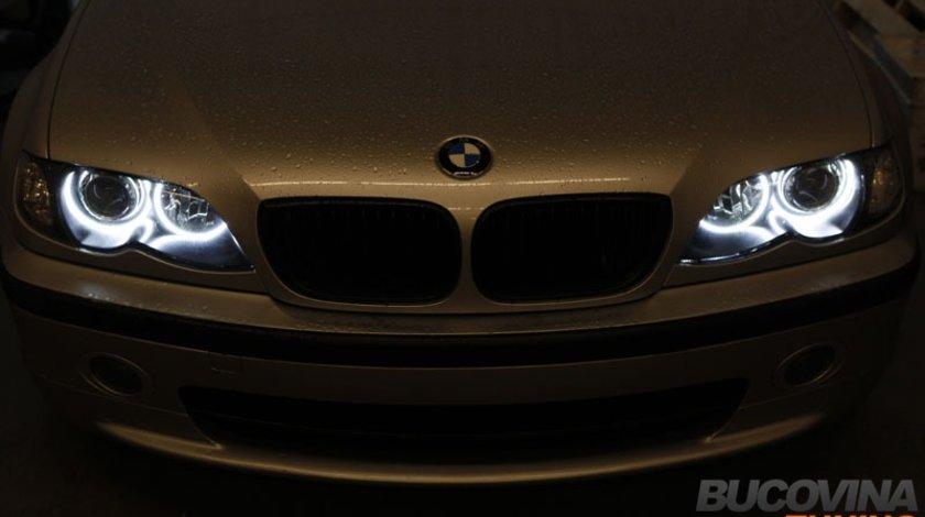 CERCURI ANGEL EYES BMW SERIA 3 E46 SMD LED
