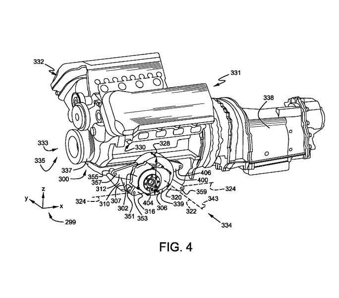Cerere patent Ford