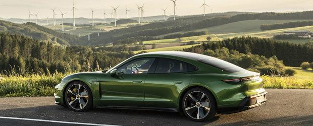 Cerere peste asteptari pentru noul Porsche Taycan in Europa. Au fost depuse deja 30.000 de pre-comenzi