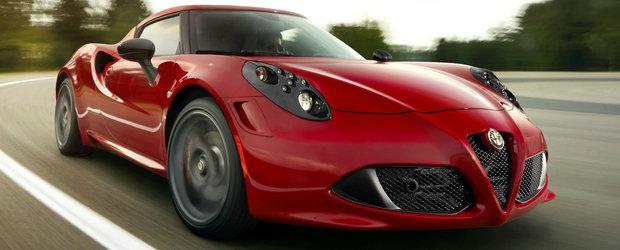 Cereti si...nu vi se va da. Alfa Romeo 4C primeste in 2018 mai multe imbunatatiri, dar cutie manuala nu