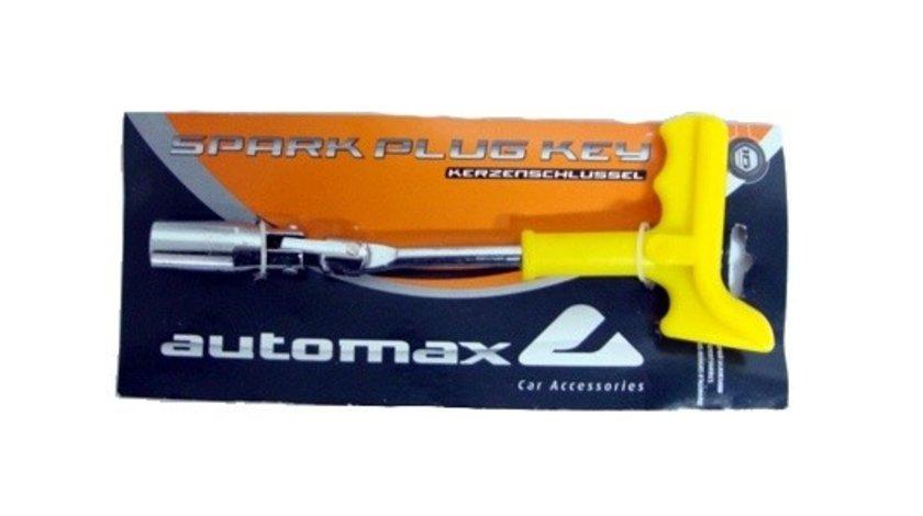 Cheie bujii auto Automax 16mm cu maner solid