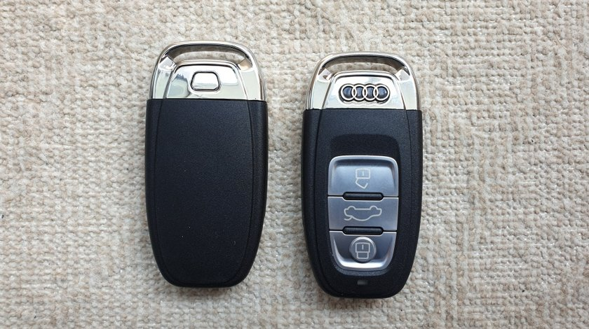 Cheie completa Audi 433Mhz PCF7945AC 3 butoane Smart Remote Key