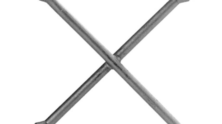 Cheie cruce pentru roti Carpoint cu 4 capete de 17-19-21-22mm