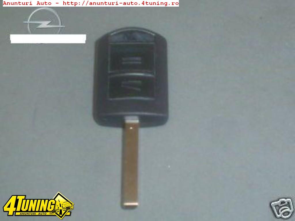 Cheie cu cip nou si telecomanda pt Opel Corsa C/ Combo