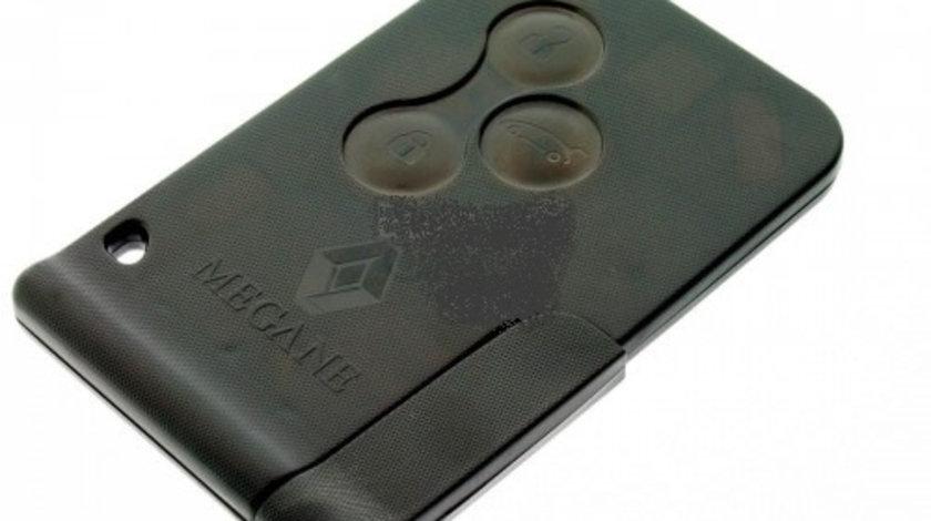 Cheie smart card 3 butoane 433Mhz ID46 cip Renault Megane, cod Ch852 - CSC83148