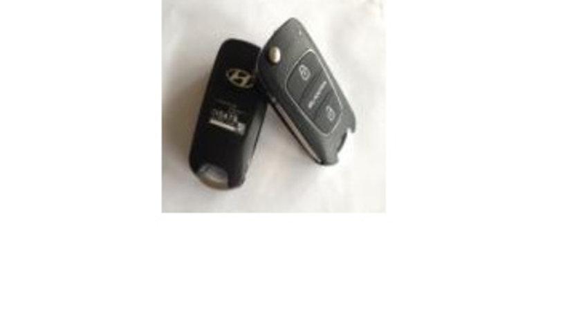 Cheie telecomanda 2 butoane 46cip, 433Mhz, Hyundai Ch592 - CT282863