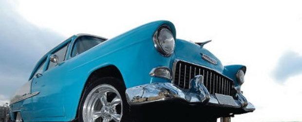 Chevrolet Bel Air: retro lowrider