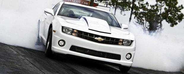 Chevrolet Camaro COPO parcurge sfertul de mila in 8.88 secunde. VIDEO AICI!