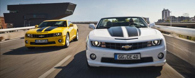Chevrolet Camaro se va lansa in Romania in luna noiembrie