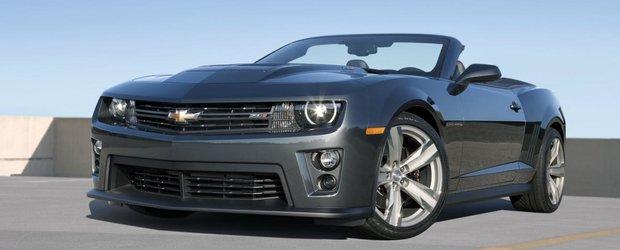 Chevrolet Camaro ZL1 Convertible porneste de la 60.445 dolari