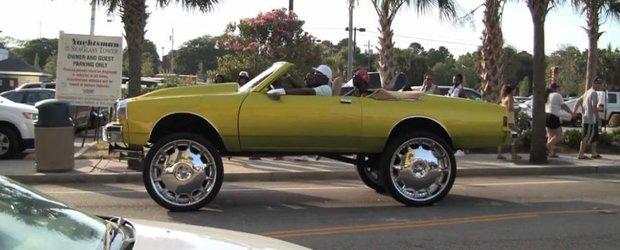 Chevrolet Caprice cu jante de 30 inch: masina de teren sau eleganta?