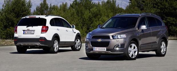 Chevrolet Captiva porneste de la 26.500 de euro cu TVA