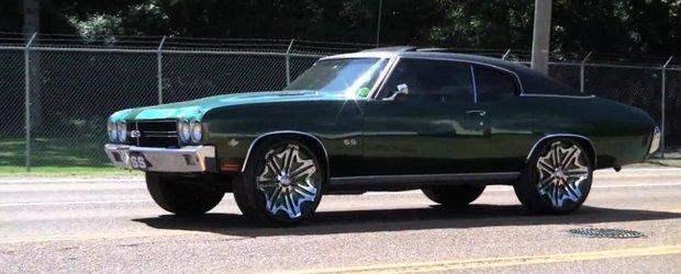Chevrolet Chevelle cu jante pe 24 inch