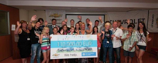 Chevrolet continua sa sprijine organizatia SOS Satele Copiilor