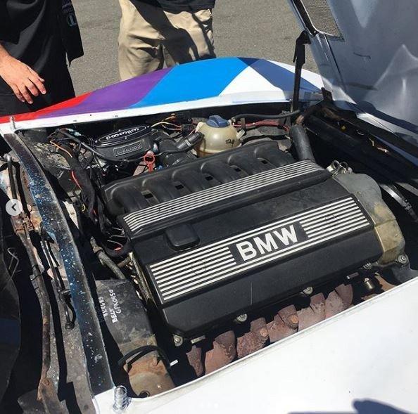 Chevrolet Corvette C3 cu motor de M3