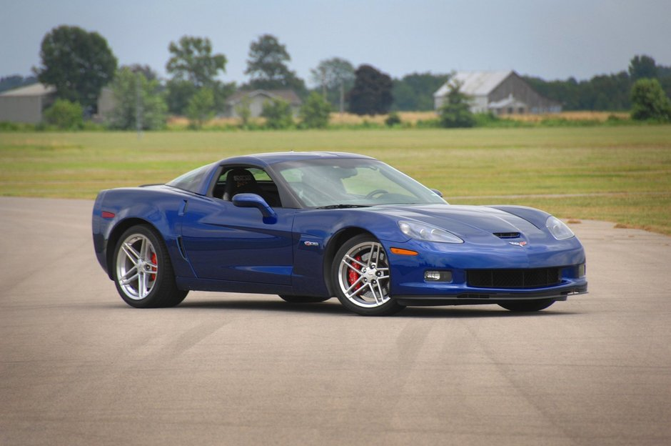 Chevrolet Corvette Z06 Blue Devil de vanzare