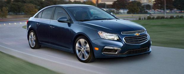 Chevrolet Cruze Facelift: mici modificari estetice pentru 2015