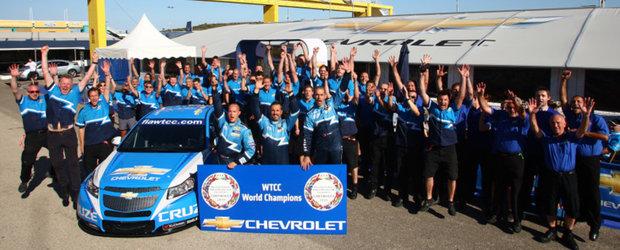 Chevrolet Cruze si Campionatul Mondial de Turisme - o poveste de succes