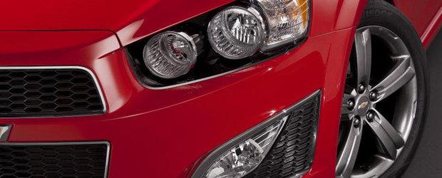 Chevrolet dezvaluie modelul Sonic RS