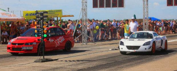 Chevrolet DragRacing - viteza maxima pe muzica celor mai buni DJ