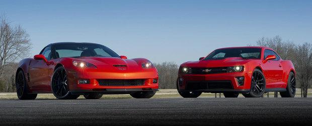 Chevrolet este pe primul loc in topul autovehiculelor sport din Statele Unite ale Americii
