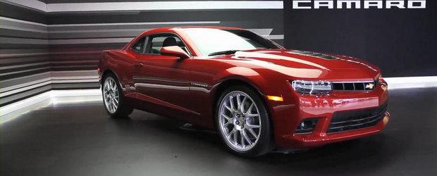 Chevrolet explica designul noului Camaro