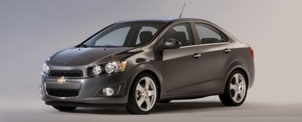 Chevrolet face valuri cu noul 2012 Sonic