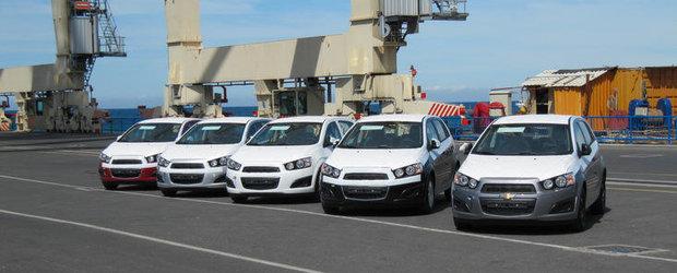 Chevrolet in portul Koper