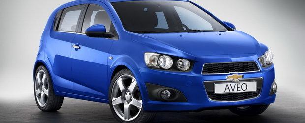 Chevrolet lanseaza noul Aveo