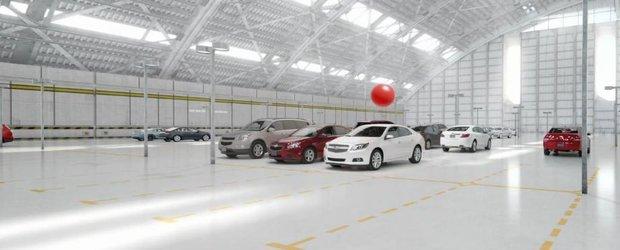 Chevrolet Malibu si aplicatia care iti gaseste masina in parcare