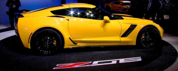 Chevrolet ne dezvaluie atractiile tehnologice ale noului Corvette Z06