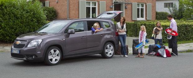 Chevrolet Orlando aduce farmecul vacantelor calatoriilor cu familia