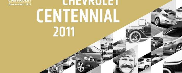 Chevrolet sarbatoreste 100 de ani de autovehicule legendare
