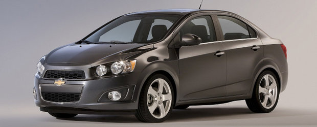 Chevrolet Sonic s-ar putea vinde in 80.000 de unitati pe an
