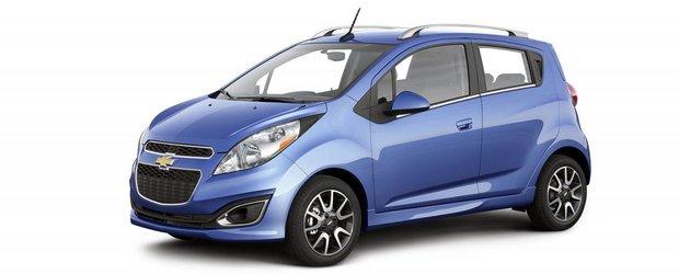 Chevrolet Spark cu transmisie automata consuma 7.3 l / 100 km