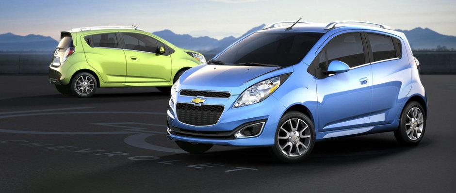Chevrolet Spark Electric, explicat in imagini video
