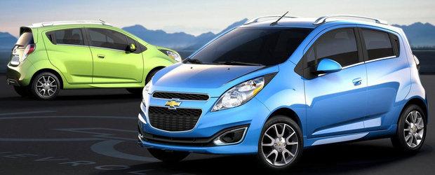 Chevrolet Spark facelift s-a lansat in Romania