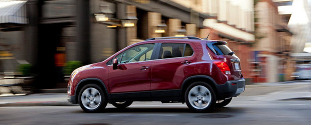 Chevrolet Trax ajunge in Romania in luna septembrie